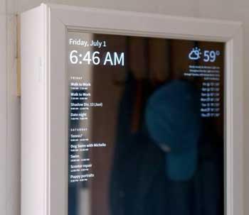 Small smart mirror