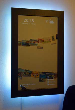 Smart Mirror with LED lighting
