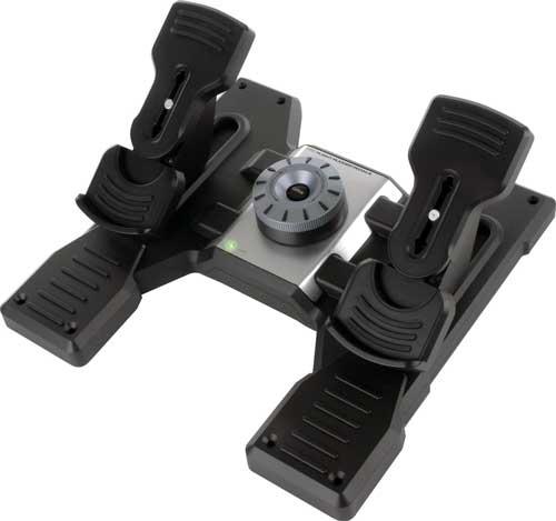 Logitech rudder pedals
