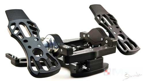 MFG Crosswind rudder pedals